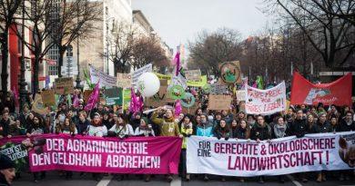 Gestern in Berlin: 35.000 Menschen demonstrierten für die Agrar- und Ernährungswende