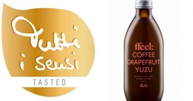 Tutti i sensi Gold für den ffeel Coffee Grapefruit Yuzu-Drink