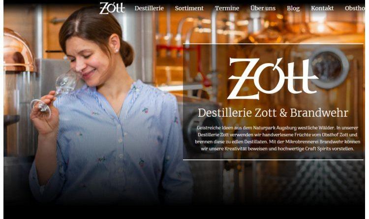 Destillerie Zott in Ustersbach