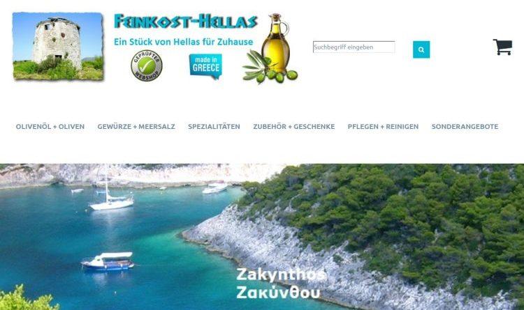 Griechische Spezialitäten von Feinkost-Hellas