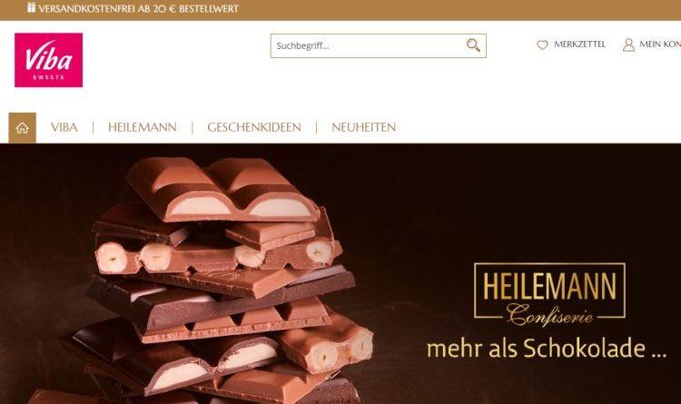 Mehr als Schokolade – im Viba-Shop