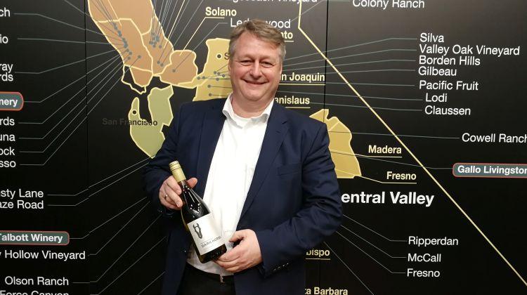 Auf der ProWein bei der Gallo Winery im Gespräch mit Dirk Schultheis