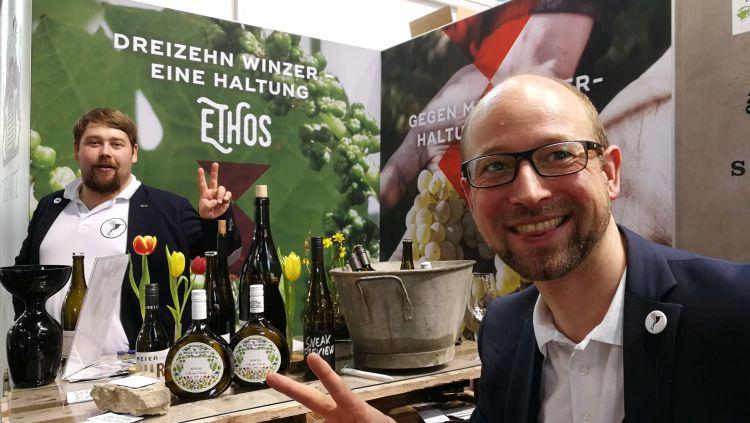 Im Gespräch mit Markus Meier vom Weingut Meier Schmidt auf der ProWein 2019