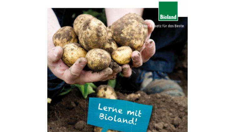 Bioland stellt erstmals Bildungsmaterialien zu den Themen Getreide und Kartoffel vor