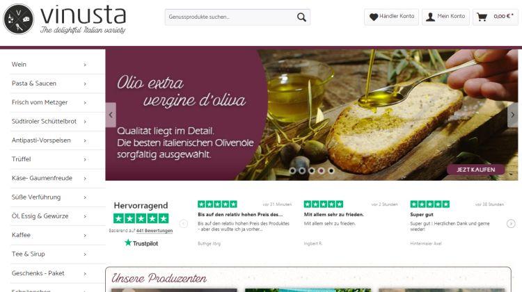 Vinustra – Bindeglied zwischen italienischem Genuss und den Liebhabern italienischer Spezialitäten