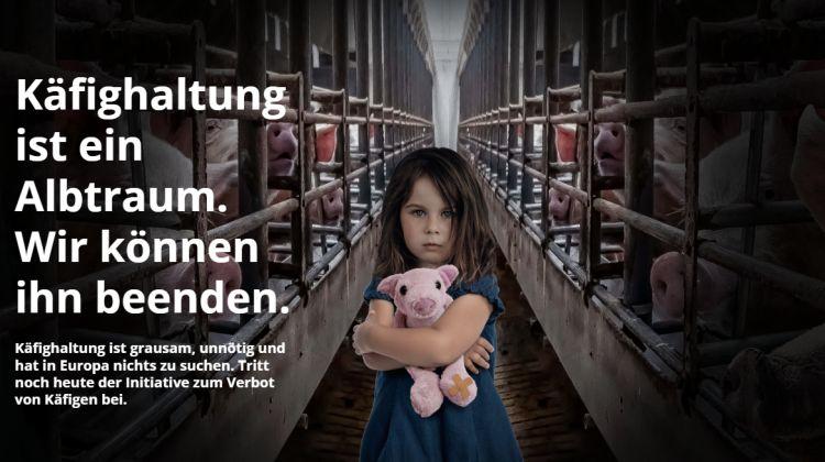 """Etappensieg: Europäische Bürgerinitiative """"End the Cage Age"""" erreicht über eine Million Unterschriften"""