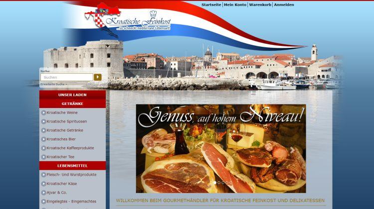 Kroatische Feinkost - Screenshot: Tutti i sensi
