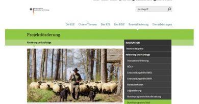 BLE - Bundesprogramm Wolf