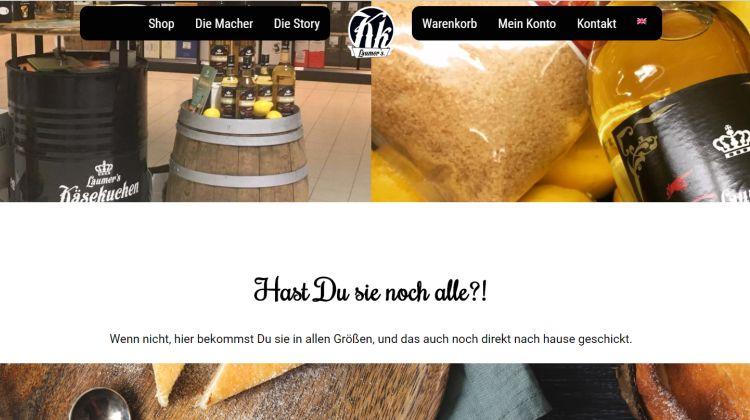 Laumers Käsekuchen - Screenshot Tutti i sensi