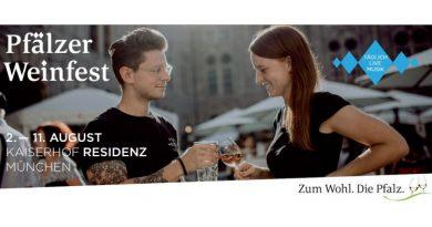 das 22. Pfälzer Weinfest im Kaiserhof der Münchner Residenz