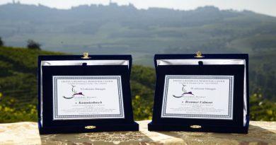 Ehrung für die Pfälzer Weinlage Kastanienbusch im Piemont