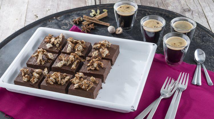 Naturata Rezept - Chocolate Block mit Ziimtknusper