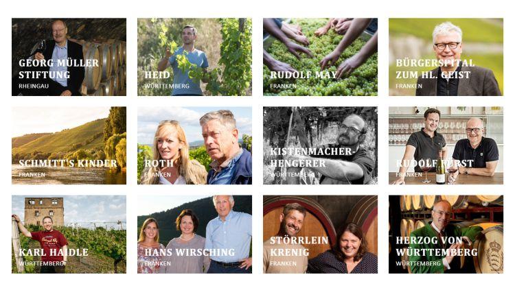 Neue VDP-Webseite - Screenshot von Tutti i sensi