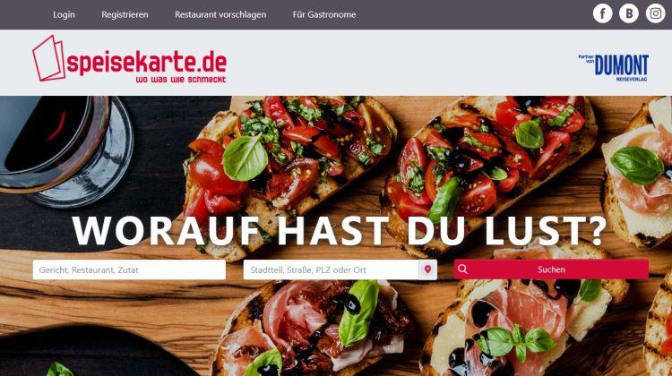 Speisekarte.de - Screenshot Tutti i sensi