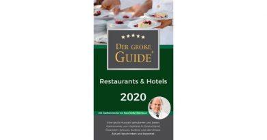 Der Große Restaurant & Hotel Guide 2020 erschienen