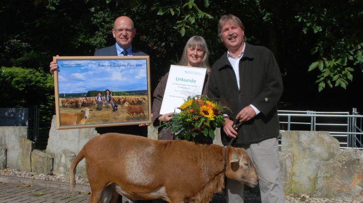 Hans-von-Bemberg-Preis für die beste tierzüchterische Leistung des Jahres 2018 für Ulf Helming aus Augustdorf