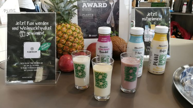 Pflanzliche Drinks von Plant B
