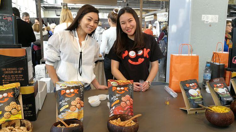 Pook Kokoschips auf der eat&style 2019 - Foto: Tutti i sensi