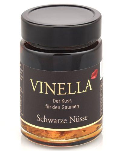 Schwarze Nüsse im Glas - Vinella