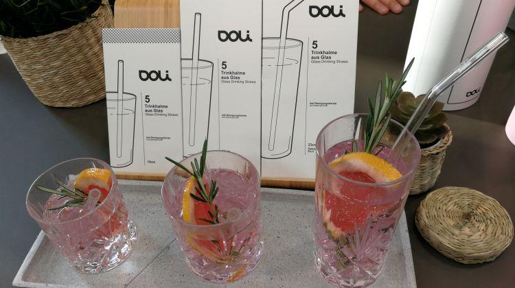 Doli-Bottles - Trinkhalme aus Glas - Foto: Tutti i sensi