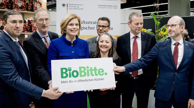 Julia Klöckner will Bioanteil in öffentlichen Küchen auf 20 Prozent erhöhen