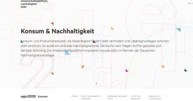 Wissenschaftsplattform Nachhaltigkeit 2030 - Screenshot Tutti i sensi
