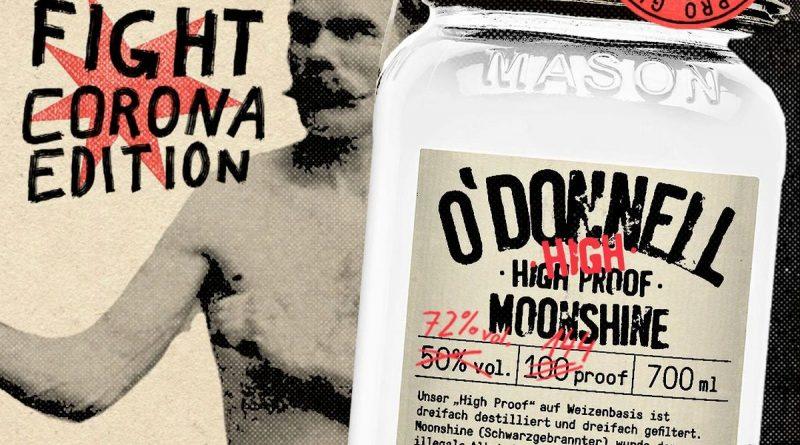 O'Donnell geht neue Wege und lanciert das DIY-Desinfektionmittel mit Spendenhilfe - Foto: O'Donnell