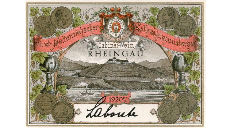 Schloss Johannisberg versteigert 100-jährigen Riesling Goldlack für 18.000 Euro