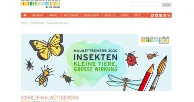 """große Wirkung"""" – Malwettbewerb für Schüler - UN Dekade Biologische Vielfalt"""
