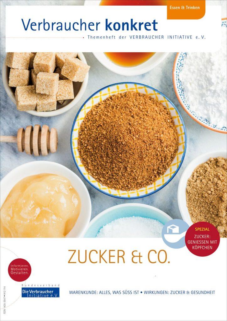 Jetzt mal wieder weniger Zucker konsumieren - Tipps der Verbraucher Initiative  - Foto: Die Verbraucher Initiative