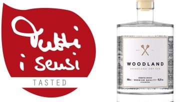 Woodland Sauerland Dry Gin in der Tutti i sensi Verkostung - Foto: Tutti i sensi