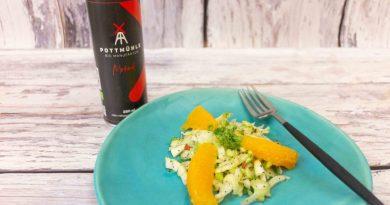 Fenchel-Orangen-Salat mit Mohndressing - Foto: Pottmühle