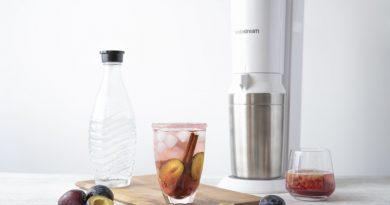 SodaStream Mocktail - Zwetschgen-Zimt-Limonade