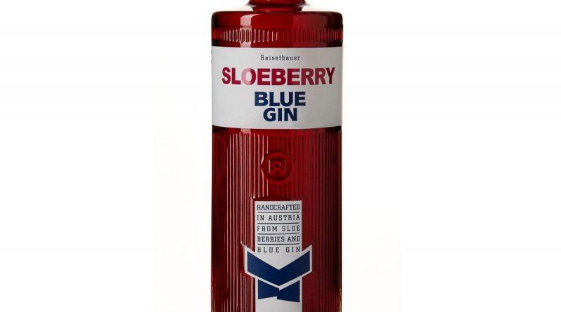 Sloeberry Blue Gin von Reisetbauer aus Österreich