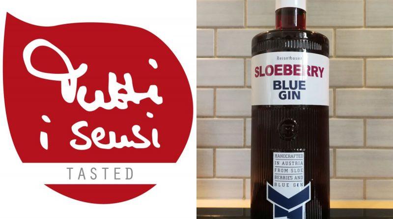 Verkostung von Sloeberry Blue Gin - Tutti i sensi Tasted