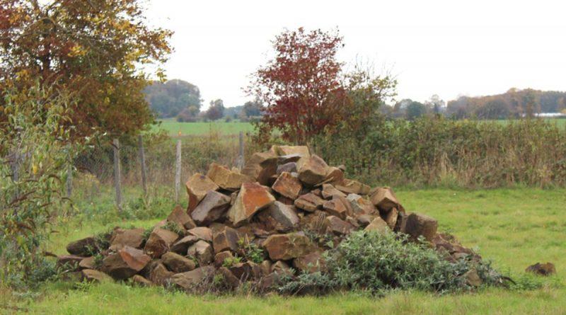 Lesesteinhaufen - Bild: Landwirtschaftskammer Nordrhein-Westfalen