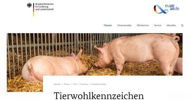 Tierwohl für Sauen - BMEL - Screenshot Tutti i sensi