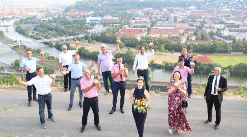 Die strahlenden Sieger von Best of Gold 2020 auf der Würzburger Steinburg - Foto: Rudi Merkl
