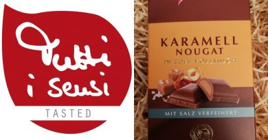 Nougat-Aromatik mit knackigem Salz-Anteil - Viba Karamell Nougat Schokolade - Foto: Tutti i sensi