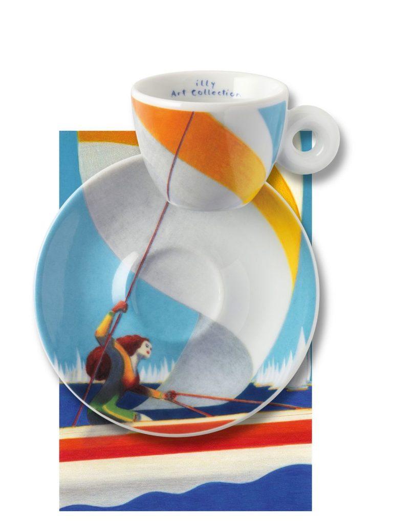 Illy Art Collection Tasse zur Barcolana Regatta in Triest - Foto: Illy Cafe