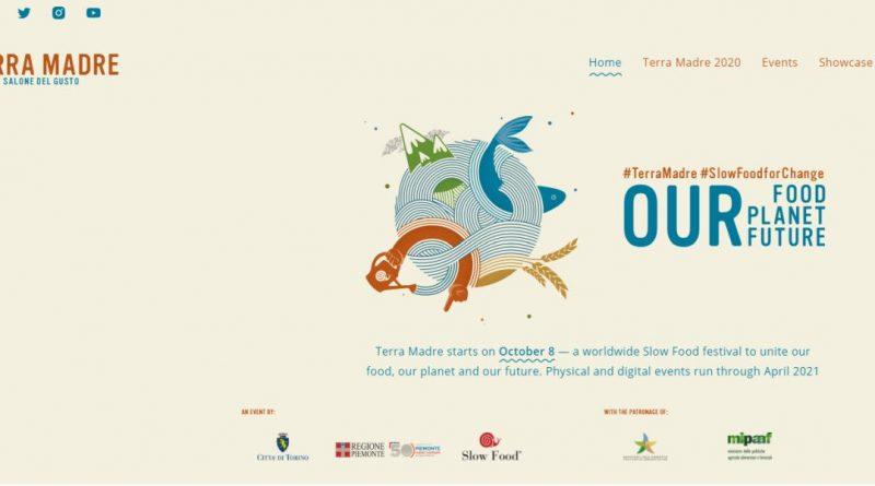 Terra Madre Salone del Gusto in diesem Jahr als hybride Veranstaltungs-Serie - Screenshot: Tutti i sensi