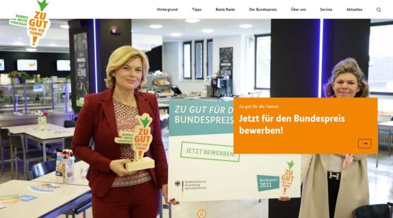 """Projekte gegen Lebensmittelverschwendung gesucht – Wettbewerb """"Zu gut für die Tonne 2021"""" - Screenshot Tutti i sensi"""