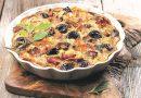 Hähnchen-Pflaumen-Tortilla mit kalifonischen Pflaumen