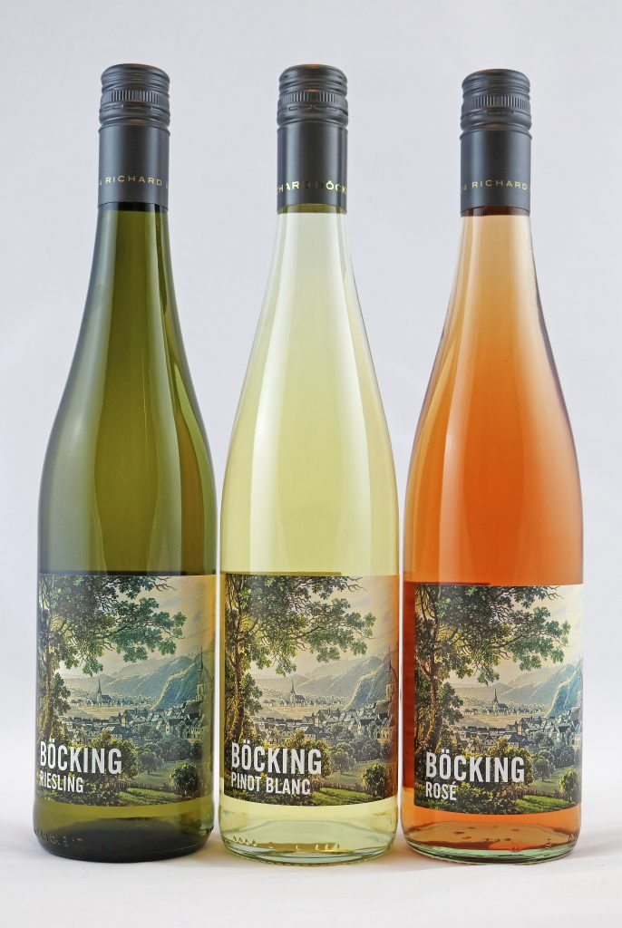 Riesling Probierpaket Weingut Richard Böcking, Traben-Trarbach, Mosel