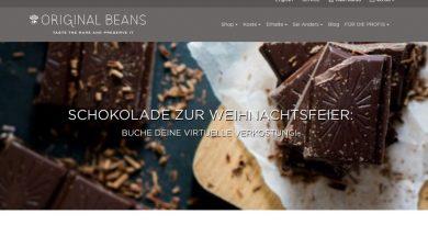 Original Beans Schokoladenverkostung Online -ScreeshotTuttiisensi