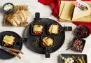 Raclette Suisse mit Kürbis und Cranberries - Käse aus der Schweiz