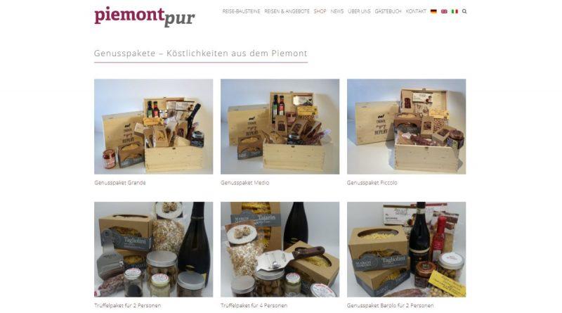 PiemontPur - Screenshot Tutti i sensi