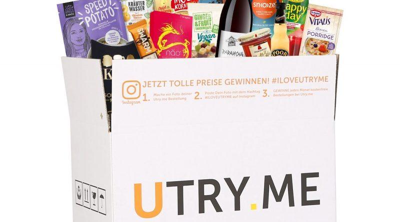 Utry.me-Box mit Produkten - Foto: Utry.me