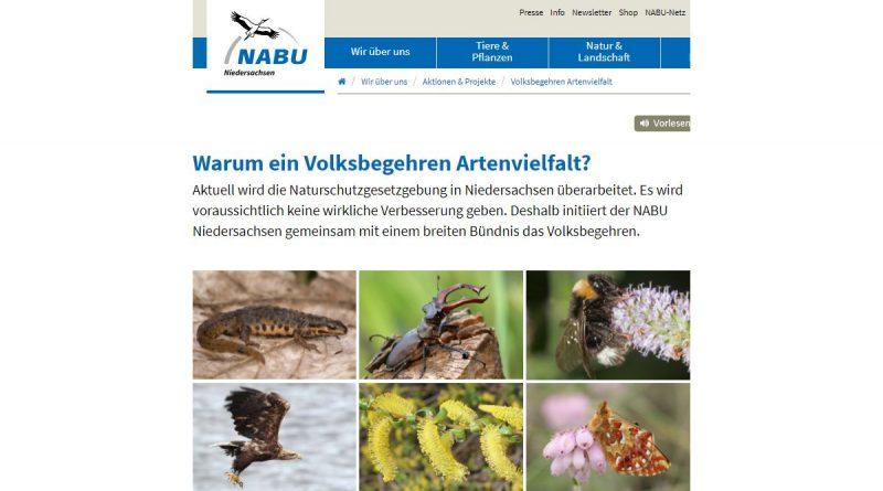 NABU zum Thema Artenvielfalt - Screenshot Tutti i sensi