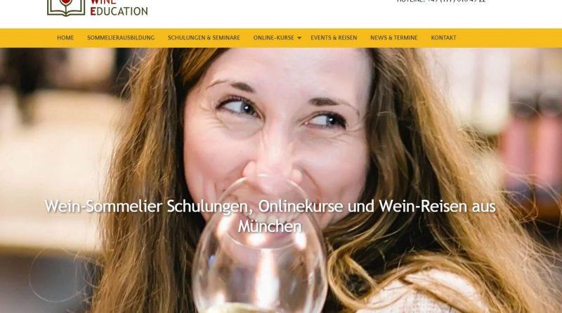 Online Fachwissen zum Thema Wein aneignen bei European Wine Education - Screenshot Tutti i sensi